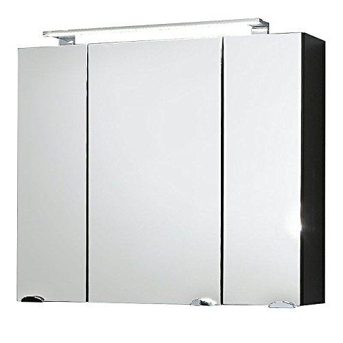 badezimmerm bel waschplatz set hochglanz anthrazit 90cm. Black Bedroom Furniture Sets. Home Design Ideas
