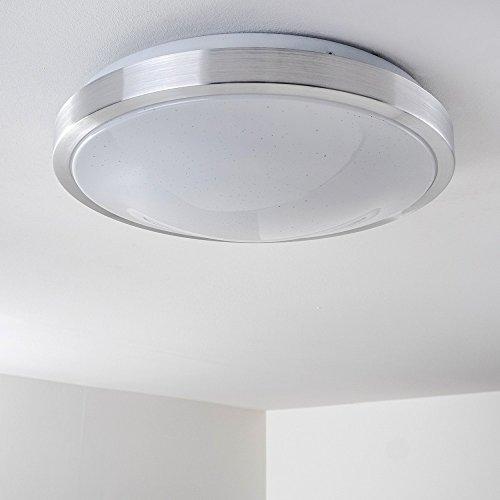 Decken-Lampe mit LED rund mit warmweißem Licht – Deckenleuchte für ...