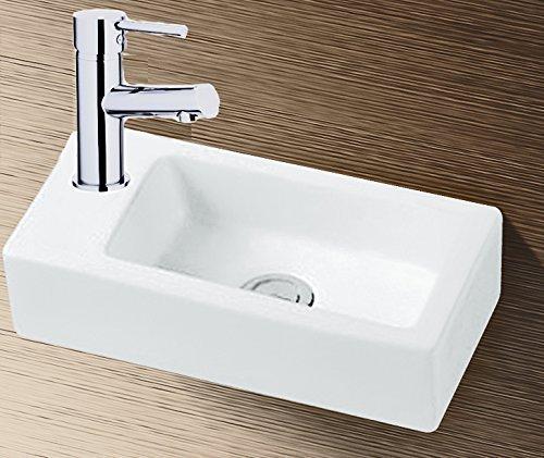gr nblatt waschbecken h nge waschtisch mit lotus effekt nano beschichtung. Black Bedroom Furniture Sets. Home Design Ideas