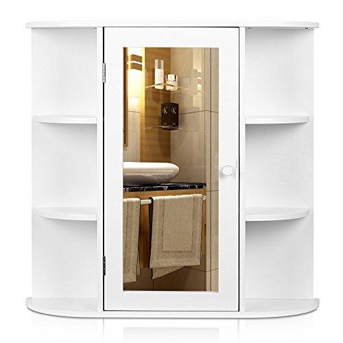 Badezimmer Spiegelschrank  | 66x17x63 cm Spiegelschrank Badezimmer |