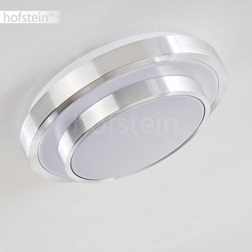 led bad decken leuchte mit warmwei em licht aus aluminium badezimmerlampe deckenstrahler f r. Black Bedroom Furniture Sets. Home Design Ideas