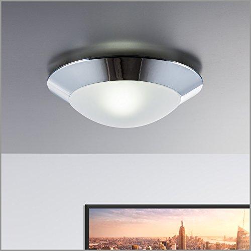 led baddeckenleuchte 230v ip44 badezimmer geeignet wandlampe led deckenlampe led deckenstrahler. Black Bedroom Furniture Sets. Home Design Ideas
