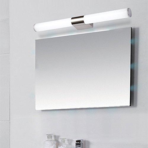 LEDMOMO 18 Zoll Spiegelleuchten Badlampe LED 12W Beleuchtung ...