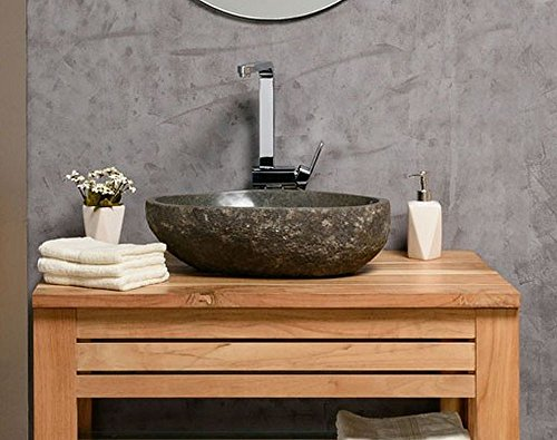 naturstein waschbecken 40 cm oval einzeln gepr ft und fotografiert suchen sie ihr. Black Bedroom Furniture Sets. Home Design Ideas