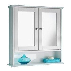 weiz holz Spiegelshrank | Badezimmer Spiegelschrank  Holz weiß