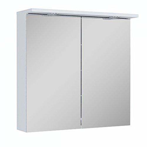 60cm Spiegelschrank mit LED beleuchtung |  Badezimmer Spiegelschrank