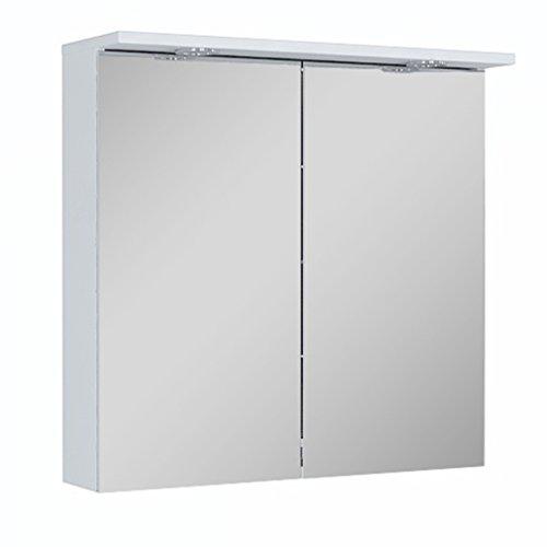 75cm mBadezimmer Spiegelschrank | LED Beleuchtung Badezimmer Spiegelschrank