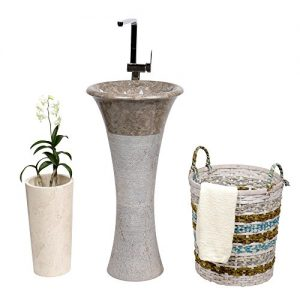 Handwaschbecken | Standhandwaschbecken | Handwaschbecken aus Naturstein | Naturstein Standwaschbecken