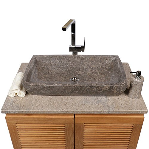 waschbecken 60 x 40 eckig affordable simple waschtisch x mit keramik waschtisch mit cm aus. Black Bedroom Furniture Sets. Home Design Ideas