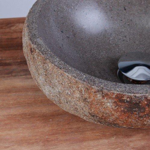 wohnfreuden naturstein waschbecken 30 cm stein. Black Bedroom Furniture Sets. Home Design Ideas