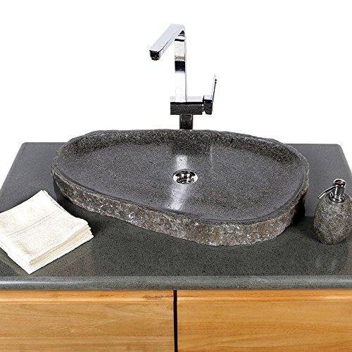 wohnfreuden naturstein waschbecken 50 60 cm extra flach einzeln fotografiert auswahl. Black Bedroom Furniture Sets. Home Design Ideas