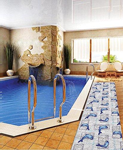 7,99€/m) Weichschaummatte Antirutschmatte Badezimmermatte Sicherheit ...