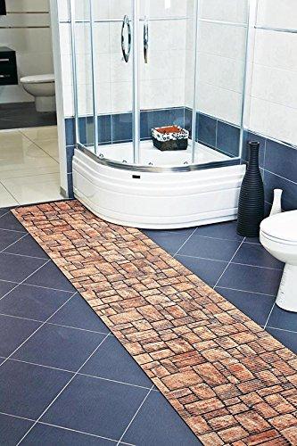 7 99 m weichschaummatte antirutschmatte badezimmermatte sicherheit badvorleger badezimmer wc. Black Bedroom Furniture Sets. Home Design Ideas