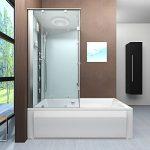Badewanne mit Dusche | Duschtempel | 2in1 Badewanne