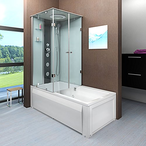 acquavapore dtp50 a000r wanne duschtempel badewanne dusche duschkabine 90x180. Black Bedroom Furniture Sets. Home Design Ideas