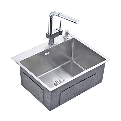 Auralum Waschbecken Spulbecken Handwaschbecken Edelstahl Wasche