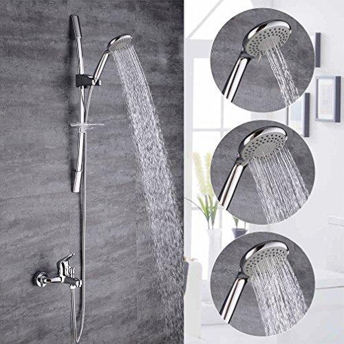 bonade duschsystem duscharmatur shower set elegant messing wasserfall duschen duschset brauseset. Black Bedroom Furniture Sets. Home Design Ideas