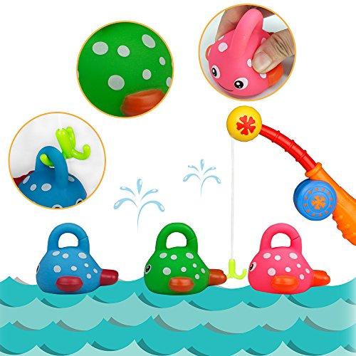 badewannenspielzeug wasserspielzeug angelspiel kleinkindspielzeug badespa spiel geschenk f r. Black Bedroom Furniture Sets. Home Design Ideas
