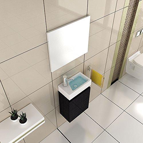 badm bel komplettset mit waschbecken aus mineralguss und. Black Bedroom Furniture Sets. Home Design Ideas