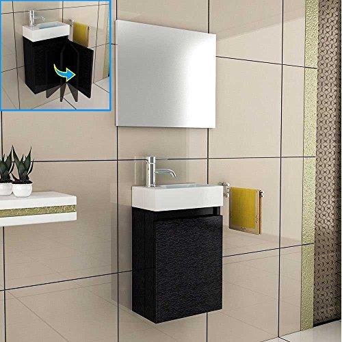badm bel komplettset mit waschbecken aus mineralguss und unterschrank mit softclose funktion. Black Bedroom Furniture Sets. Home Design Ideas