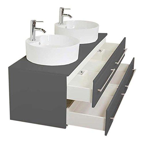 badm bel novum xl anthrazit seidenglanz mit. Black Bedroom Furniture Sets. Home Design Ideas