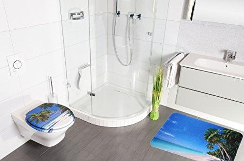 badteppich karibik 70 x 120 cm hochwertige qualit t sehr weich schnelltrocknend waschbar. Black Bedroom Furniture Sets. Home Design Ideas