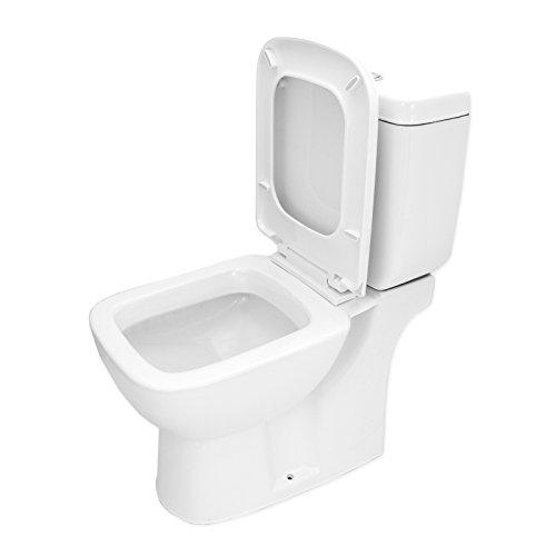 WC Stand | Badkeramik WC | Absenkautomatik | WC mit Spülkasten