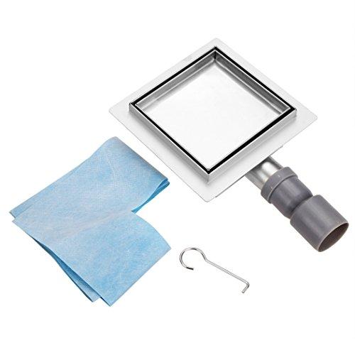 bodenablauf edelstahl ablaufrinne dusche duschablauf mit bodenbefestigung flach befliesbar mit. Black Bedroom Furniture Sets. Home Design Ideas