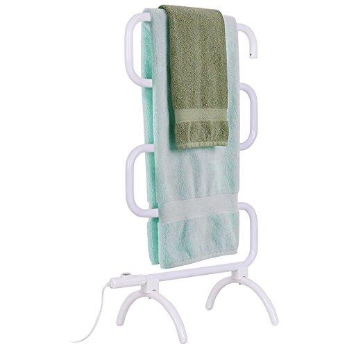 Handtuchwärmer elektrischer Handtuchhalter Handtuchtrockner freistehend