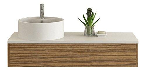 design badm bel set biel zebra dekor badset mit keramik waschbecken unterschrank mit push open. Black Bedroom Furniture Sets. Home Design Ideas