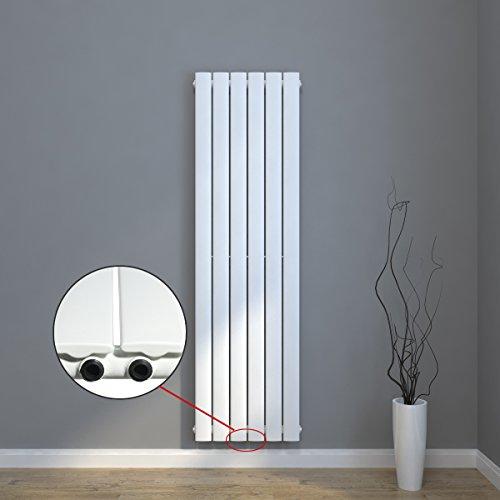 design flach heizk rper 1600x308mm wei paneelheizk rper. Black Bedroom Furniture Sets. Home Design Ideas