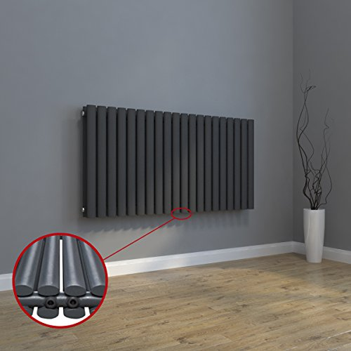 Design Heizkörper 630x616mm Einlagig Badezimmer/Wohnraum Mittelanschluss  Weiß Flachheizkörper Badheizkörper Radiator