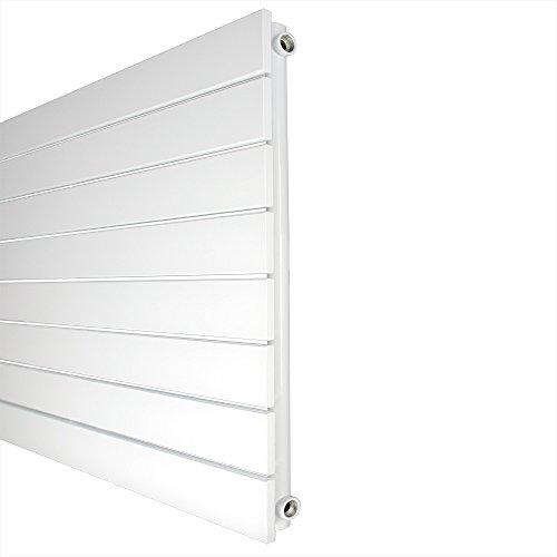 Design Paneelheizkörper horizontal Höhe 602 mm seitlicher Anschluß  verschiedene Breiten Heizkörper Badheizkörper (602 mm x 600 mm)