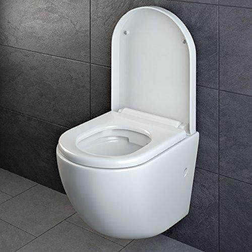 design wand h nge wc ohne sp lrand sp lrandlos toilette sitz softclose h ngend 4. Black Bedroom Furniture Sets. Home Design Ideas