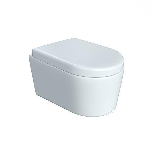 Design Wand Hange Wc Ohne Spulrand Spulrandlos Toilette Sitz