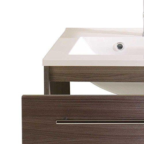 doppelwaschbecken in eiche dunkel 120 cm pharao24. Black Bedroom Furniture Sets. Home Design Ideas