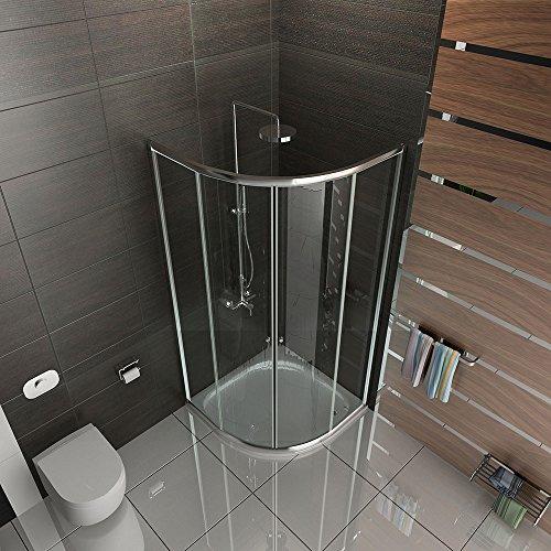 Duschkabine | Dusche 90x90x190 cm | Dusche im viertelkreis