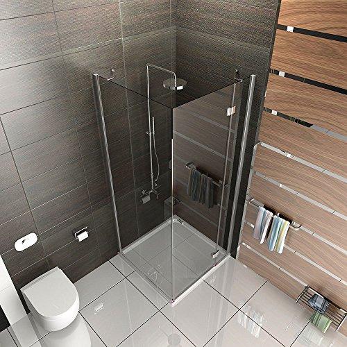 Eck Dusche | Duschkabine | Dusche 90x80x185 cm