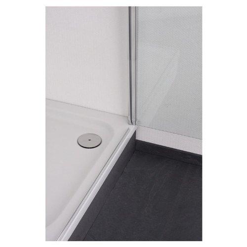 galdem duschabtrennung premium 6 mm duschkabine dusche profil in alu chromglanz dreht r. Black Bedroom Furniture Sets. Home Design Ideas