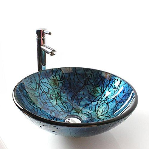 Waschbecken rund | Waschbecken rund  glas |  glas Waschbecken rund  | Glas Waschbecken
