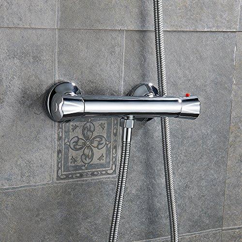 interlink thermostat mischbatterie dusche duscharmatur ventil thermostatventil wasserhahn. Black Bedroom Furniture Sets. Home Design Ideas