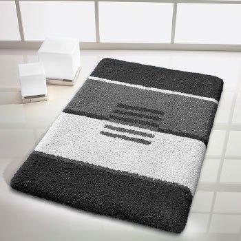 kleine wolke 5521905256 deco badematte baumwolle grau 50 x 65 cm. Black Bedroom Furniture Sets. Home Design Ideas