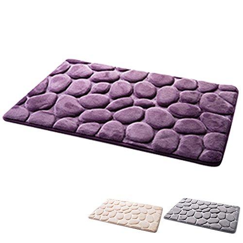 kopfsteinpflaster stein stil anti rutsch pvc wohnzimmer teppich pad schlafzimmer boden matte. Black Bedroom Furniture Sets. Home Design Ideas