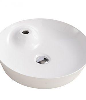 Waschbecken rund | Keramik waschbecken 45 cm | 45 cm Waschbecken rund