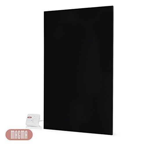 magma metallic infrarotheizung 1200 watt schwarz 25 jahre hersteller von elektroheizungen. Black Bedroom Furniture Sets. Home Design Ideas