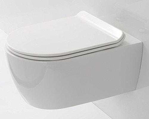 hängende Toilette   hängend WC   Keramik WC an der wand  bodenfreies WC   Toilette bodenfrei