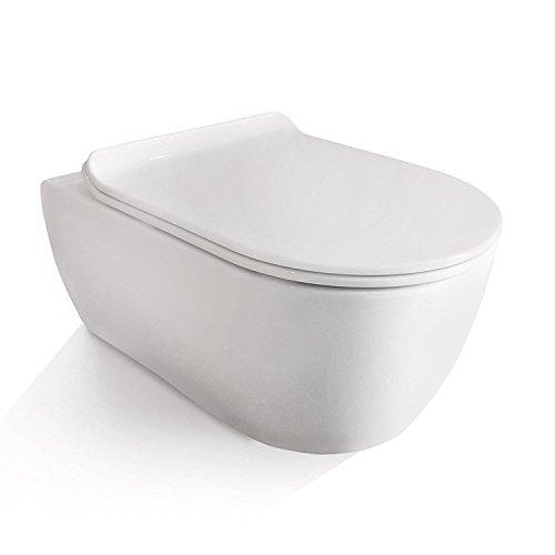 Neg Hange Wc Uno11rl Slimline Tiefspuler Randlos Toilette Ohne