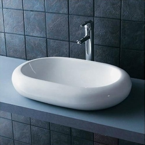 neg waschbecken uno25a oval aufsatz waschschale. Black Bedroom Furniture Sets. Home Design Ideas