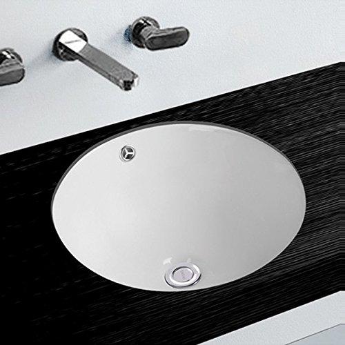 Waschbecken rund einbau  NEG Waschbecken Uno63U (rund), Unterbau-Waschschale/Einbau ...