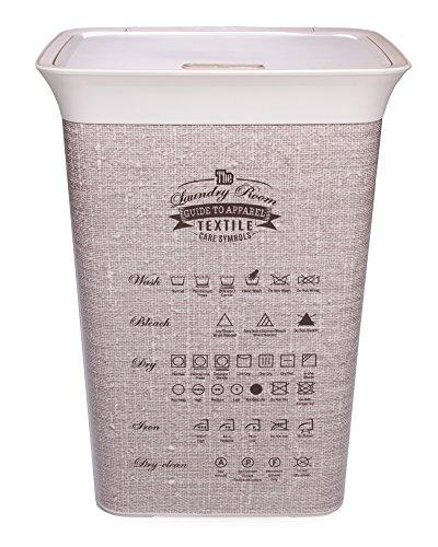 Wäschekörbe | Wäschekorb | Aufbewahrungsbox Wäsche | 60 Liter waschkorb | Wäschetrue